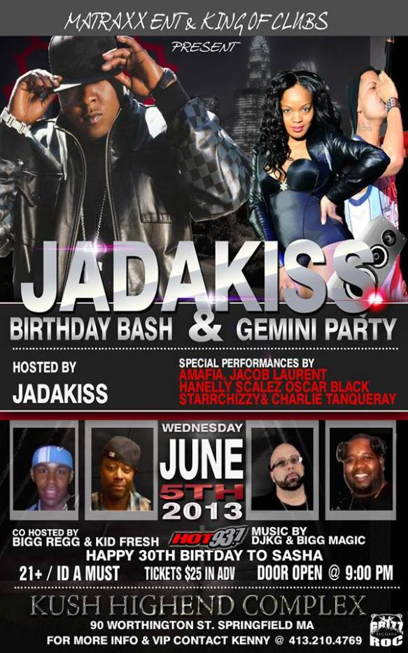 #GrizzRock #Starrchizzy #SirTanqueray Performing For #Therealkiss BDay & Gemini Party!